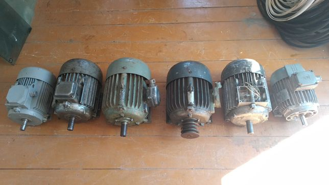 Електродвигуни / электродвигатели