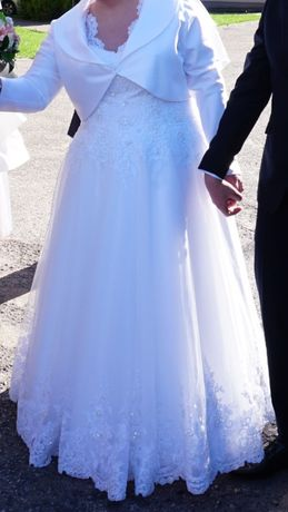 suknia ślubna 48-50