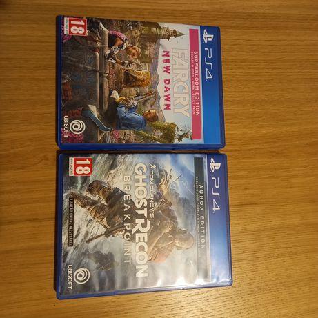 Jogos PS4 - Far Cry e Breakpoint
