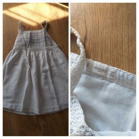 Ubranka letnie dla dziewczynki 5/6lat 116cm