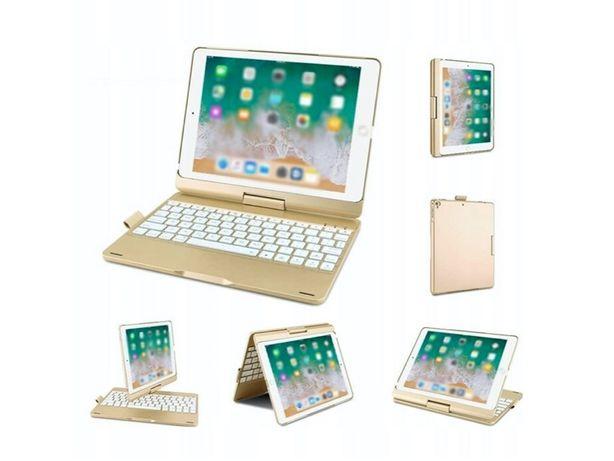 "Etui Klawiatura iPad 9.7"" 2018/2017, iPad Air 1/2, iPad Pro 11"