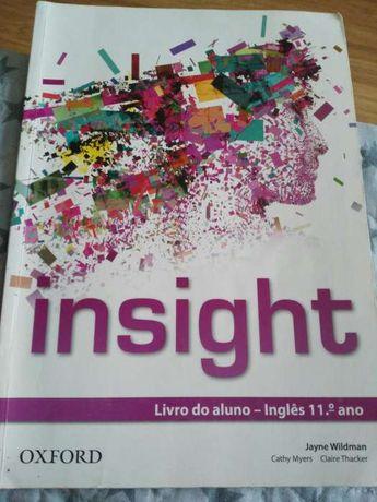 """Manual escolar de Inglês 11º """"Insight"""""""