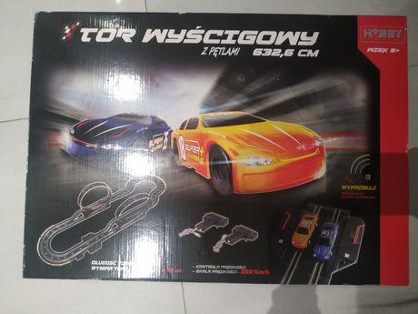 Tor wyścigowy z petlami hobby engine nowa zabawka dla chłopca