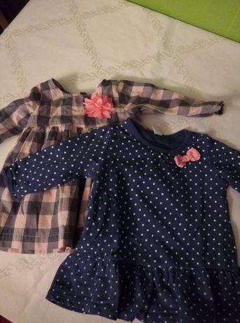 sukienki dla dziewczynki rozmiar 68