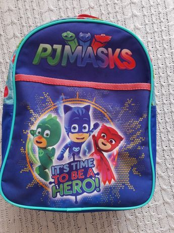 Plecak pj masks pidzamersi dla przedszkolaka