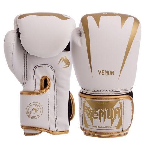 Боксерские перчатки Venum (Натуральная кожа, PU) новые 10 12 унций