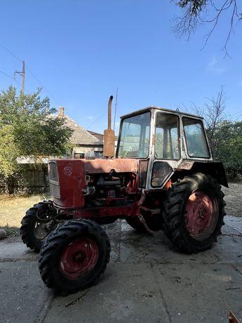 Трактор ЮМЗ-6, рабочий