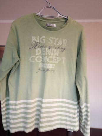 Męska bluzka z długim rękawem Big Star XL