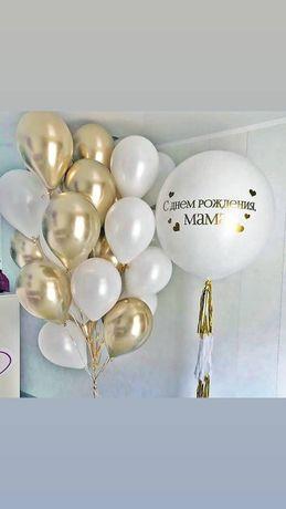 Гелиевые шары. Воздушные оформления.Presswall. Банер.Фотозона. Днепр.
