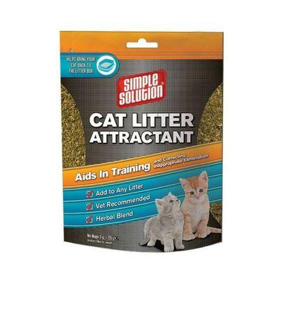 Cat litter attractant - средство для приучения котов к туалету