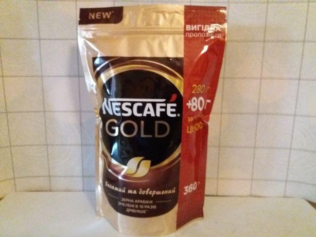Кофе (Nescafe Gold) Нескафе Голд (360г).Акция (280+80г).Якобс (400г).