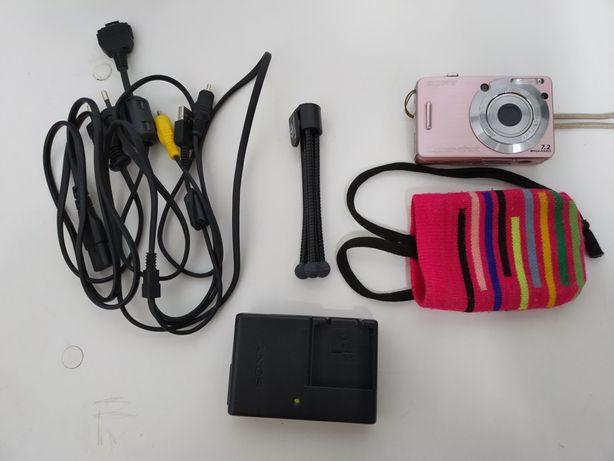 Vendo Câmara Fotográfica Sony Cyber-shot Rosa