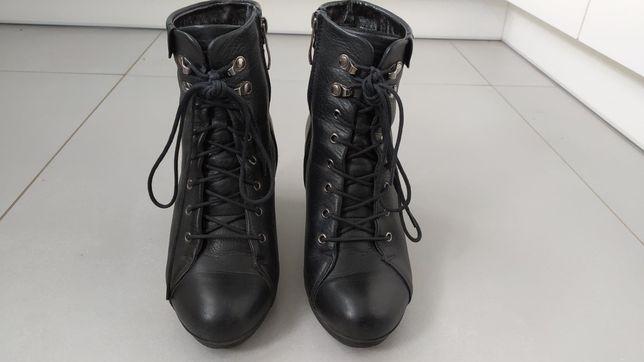 Buty czarne rozmiar 36