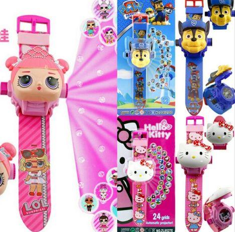 Проекционные проэкционные детские часы/годинник дитячий Lol,бетмен