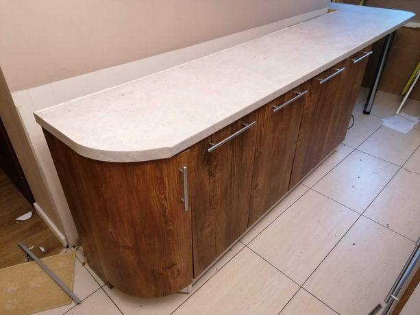 meble kuchenne - tikowe drewno