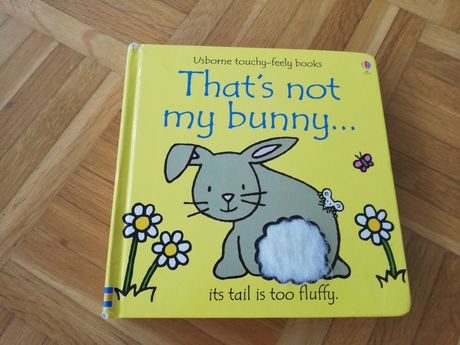 Usborne Touchy-feel books that's not my bunny... Książka po angielsku