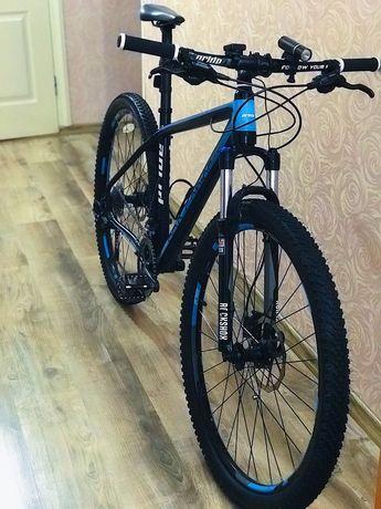 Велосипед на базе PRIDE XC-29 PRO 1.0 черно-синий матовый