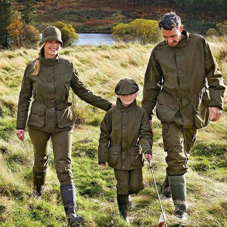Новая женская охотничья куртка-парка английского бренда Alan Paine-L