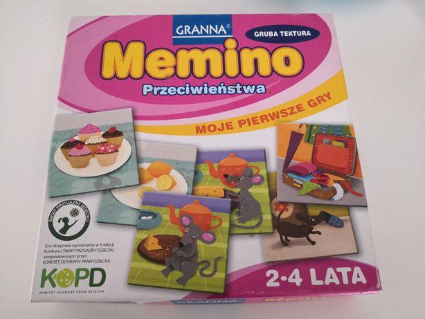 Memory Memino przeciwieństwa