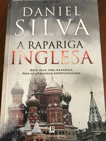 Livro Daniel Silva A rapariga inglesa