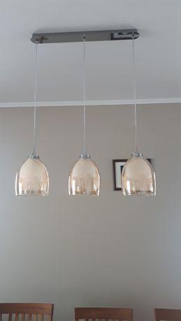 Żyrandol, lampa wisząca potrójna