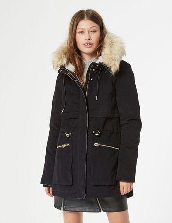Парка куртка jennyfer xxs/xs подойдёт на девочку подростка