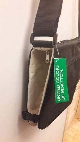 Torba torebka listonoszka Benetton oryginalna