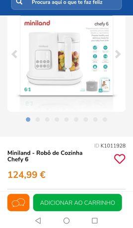 Robô de cozinha Miniland chefy 6