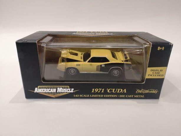 Plymouth Hemi Cuda 1971 ERTL 1:43 Модель абсолютно новая!