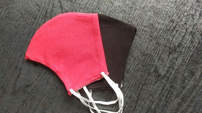 Maseczka bawełniana profilowana, maseczki bawełniane + nadruk