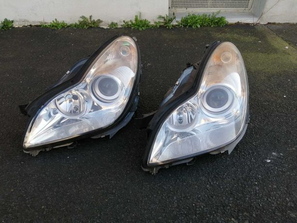 Reflektory Bi-xenon CLS W219