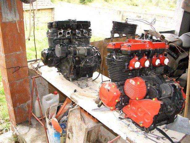 Motores Yamaha XJ 600 51J e Yamaha FZR 1000 de 94