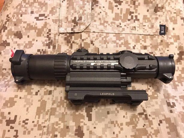 Leupold Mark 4 CQ/T 1.3x14mm mira