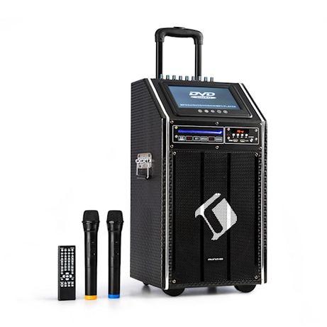 Karaoke DisGo Box 100 DVD przenośny system PA auna