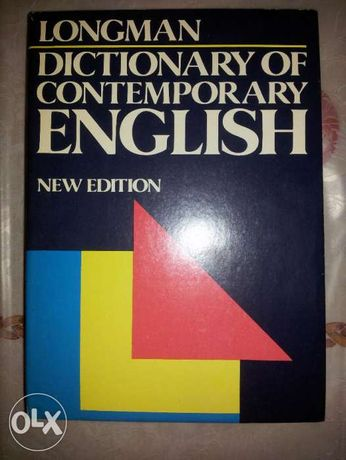 Longman Dictionary of contemporary English New Edytion 1990 rok.