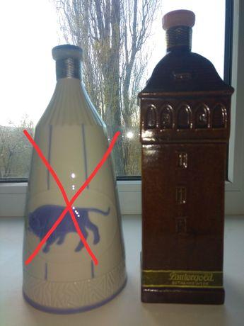Бутылка фарфор керамика