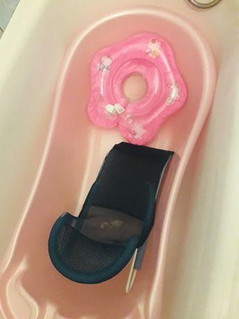 Ванночка с горкой для купания