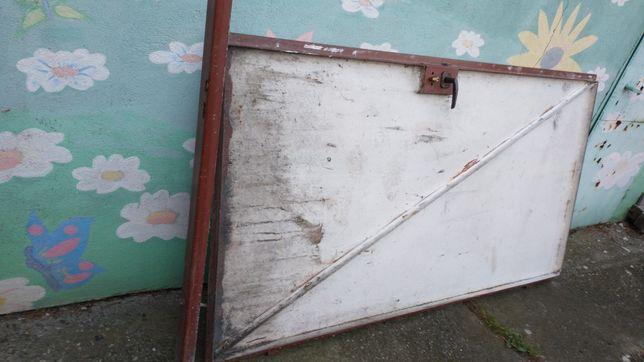 Drzwi stalowe z demontażu