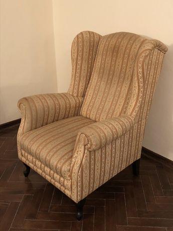 Fotel do zabytkowego wnętrza