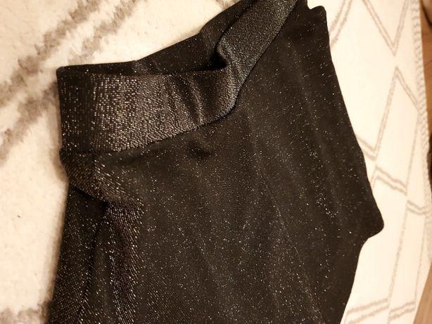 Spódniczka srebrno - czarna, rozmiar S