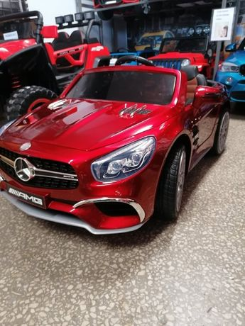 Samochód Mercedes SL 65 na akumulator dla dzieci Lakier Odbiór Wysyłka