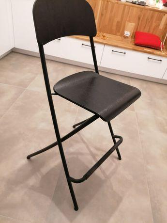 Stołek, składane krzesło barowe Ikea