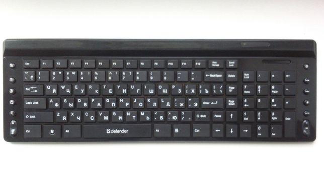 Беспроводная, хорошая клавиатура - Defender Domino 825 Nano B.