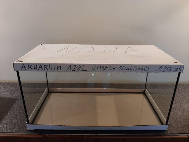 Akwarium 128 L NOWE wymiary 80x40x40