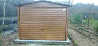 Garaże blaszane, garaż 3x5 złoty ďąb, na wymiar, producent, 4x6, 6x5,