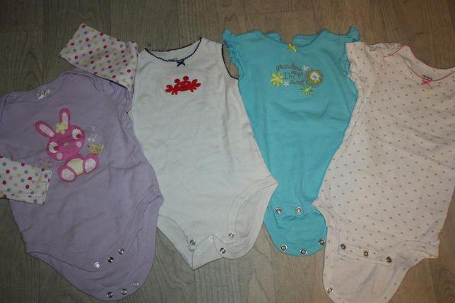 Боди фирменные для новорожденных от 0 до 6мес (дешево)