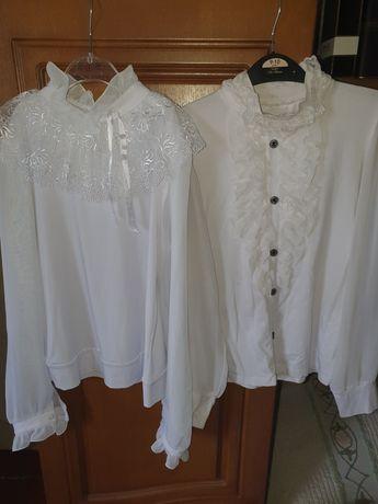 Нарядные блузки на выход на 8-10 лет.