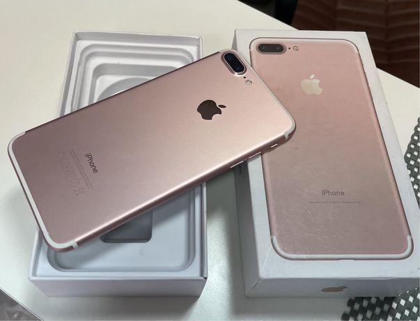 IPhone 7 Plus 128Gb Rose Gold.Гарантия Магазин+Обмен