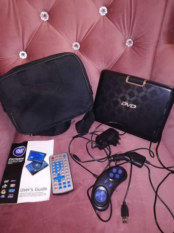 2xMultimedialne Monitorki Dvd przenośne samochodowe do filmów  i gier.