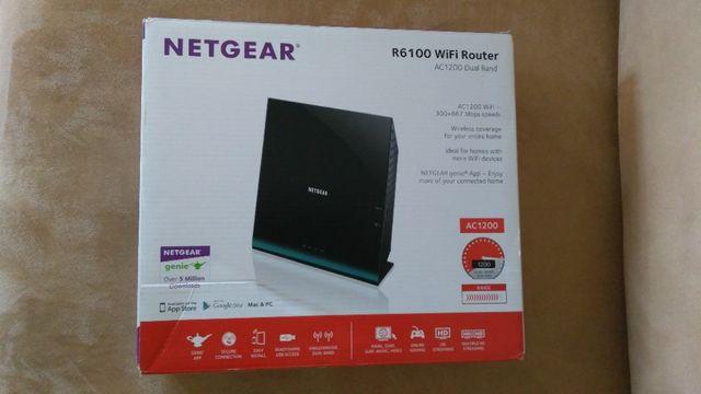 OKAZJA - router NETGEAR R6100 AC1200 WiFi Dual Band